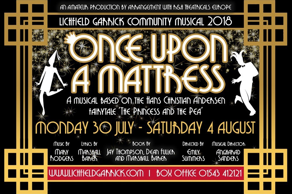 Once Upon A Mattress At the Lichfield Garrick The Theatre Twittic Review