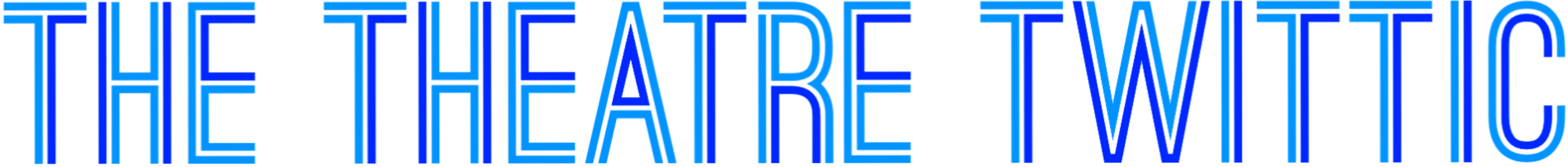 The Theatre Twittic Logo