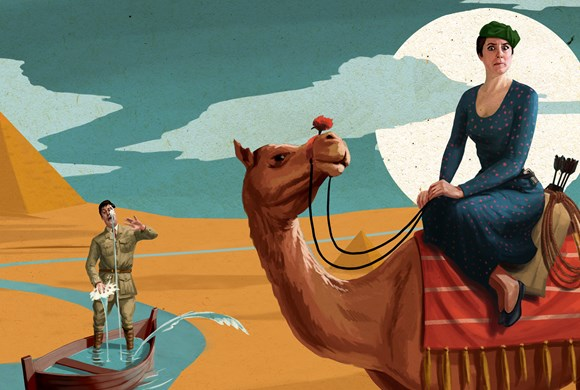 The Theatre Twittic Review - Crimes Of The Nile