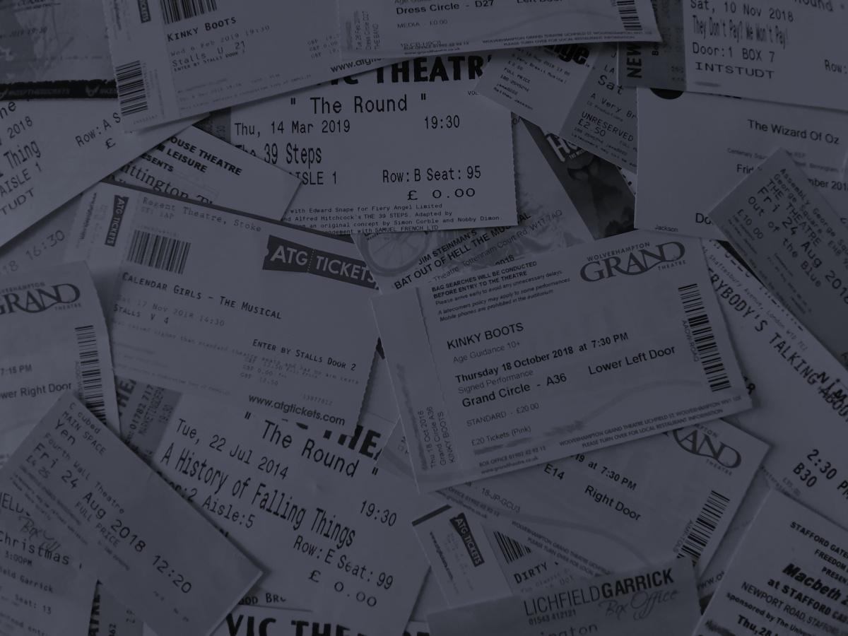 The Theatre Twittic - Tickets 2