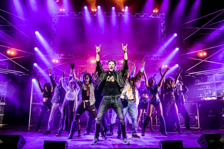 Cast of ROCK OF AGES - credit Richard Davenport