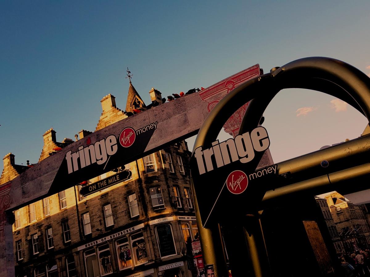 The Theatre Twittic Edinburgh Fringe Sunset Image