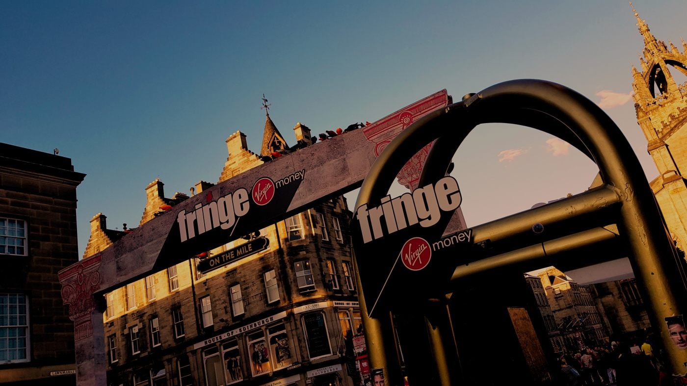 The Theatre Twittic Edinburgh Fringe Sunset Image