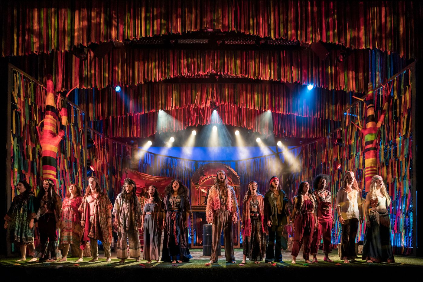 The Theatre Twittic Reviews - Hair the Musical UK Tour at the Wolverhampton Grand